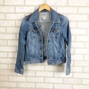 Old Navy Medium Wash Denim Jean Jacket Size Small